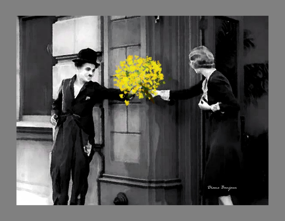 charlie chaplin  mazzo di fiori 2 copia